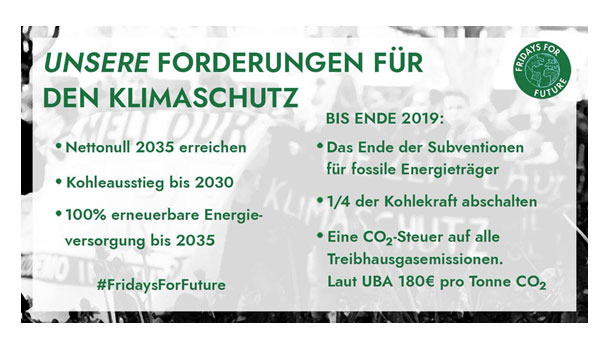 Bild Fridays for Future