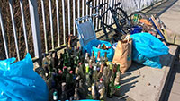 Noch nie so viel Müll in Rastatt – Sieben Tonnen eingesammelt
