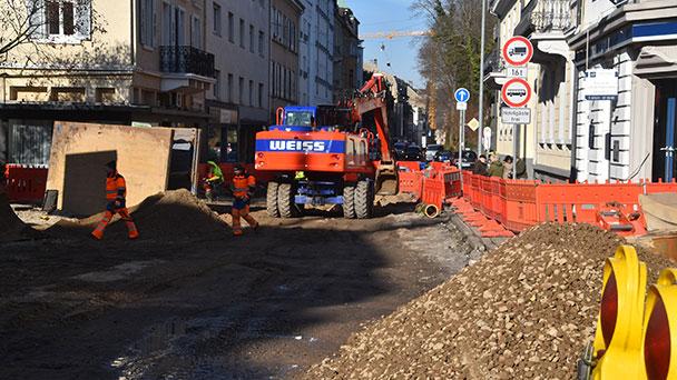 Rathaus berichtet über Bertholdplatz – Arbeiten kommen gut voran