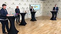 Infoveranstaltung zu Teststrecke für Oberleitungs-Lkw im Murgtal – Viele Fragen an Verkehrsminister Hermann