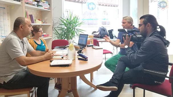 """Filmemacher aus Syrien in Gernsbach – """"Gemeinsam geredet, gelacht und Hausaufgaben gemacht"""""""