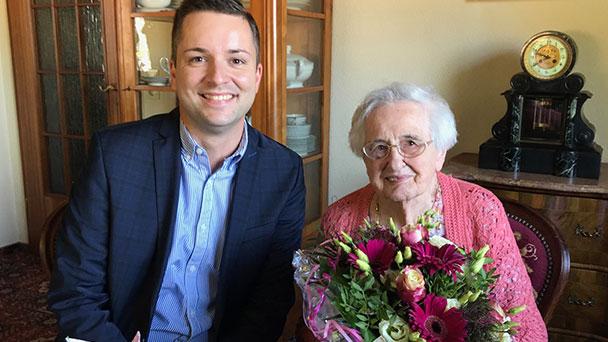 Zwei Weltkriege erlebt - Älteste Einwohnerin von Gernsbach feiert Geburtstag