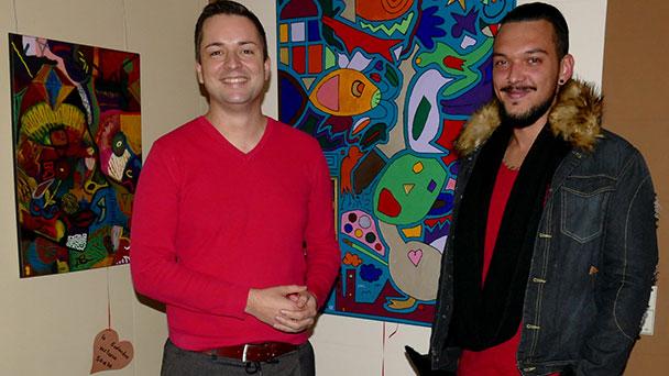 Künstler in Gernsbach entdecken - Endspurt der Ausstellung von Mario Grau bis zum 14. Dezember im Gernsbacher Rathaus