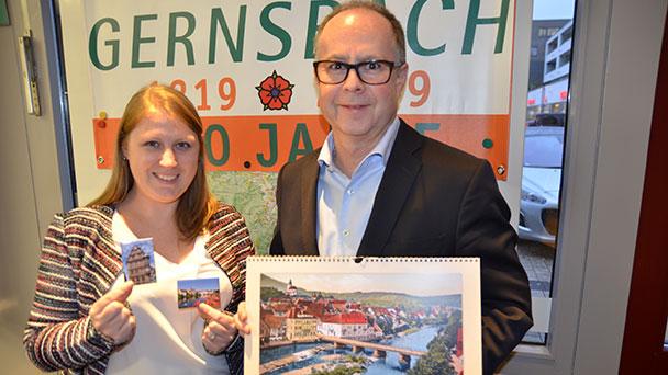 """""""800 Jahre Gernsbach"""" auf Weihnachtsmarkt – Stand mit kostenlosen Informationen"""