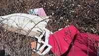 """Wer erinnert sich an """"rote Couch, zwei Teppiche und weißen Stuhl?"""" – Illegale Müllablagerung in Staufenberg"""