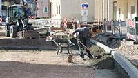 Sanierung der Hauptstraße schreitet voran – Fertigstellung Mitte September
