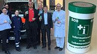 Kostenlose Notfalldosen für Baden-Badener – Klinikum Mittelbaden unterstützt Bürgerstiftung Baden-Baden