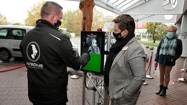 """Wärmebildkamera in Baden-Badener Klinik im Einsatz – """"Screening von bis zu acht Personen gleichzeitig"""""""