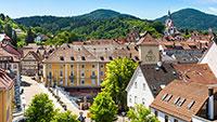 """Entwurf verkehrsfreie Altstadt in Gernsbach – Ideen für """"Urban Gardening"""""""
