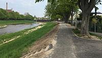 Osterspaziergang auf dem Murgdammweg – Rechtzeitig fertiggestellt