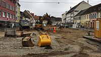 """Kampfmittelsondierung in Rastatter Kaiserstraße - """"Gehört zu bombardierten Bereichen Rastatts"""""""
