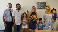 Stadt Gernsbach dankt beherzter Retterin - Dreijährigen Bub vor dem Ertrinken bewahrt