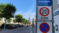 Tempo 20 in Rastatt – Bessere Aufenthaltsqualität in oberer Kaiserstraße