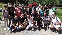 30 junge Flüchtlinge aus Rastatt lernen Schwarzwald kennen - Besuch der Vogtsbauernhöfe in Gutach