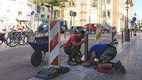 Kaiserstraße soll nicht mehr von Falschparkern blockiert – Stadt lässt 34 Poller installieren