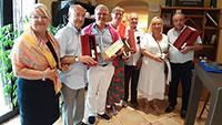 Rastatter OB Pütsch auf Sommerreise – In Südfrankreich bei Freunden