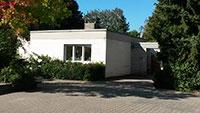 Fröhliche Kinder im ehemaligen Hausmeisterhaus - Als Hort an der Johann-Peter-Hebel-Schule umgebaut
