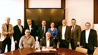 Bürgermeister von Iffezheim bis Muggensturm unterzeichnen Gutachterausschuss-Vereinbarung – OB Pütsch empfing im Rastatter Rathaus