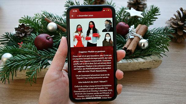 Advent, Advent in Gaggenau – Aktion mit Geschäften und Gastronomen – Adventskalender in Bürger-App