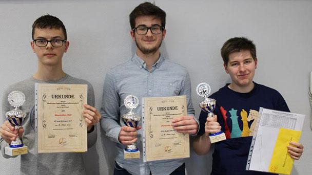 Erster und zweiter Platz für Baden-Badener Schach-Talente – Badische Jugendmeisterschaften im Schach