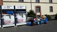 """""""Massive Vermüllung"""" – Kinderwagen, Möbel oder Müllsäcke – Altkleidercontainer Lützowerstraße und Zaystraße werden entfernt"""