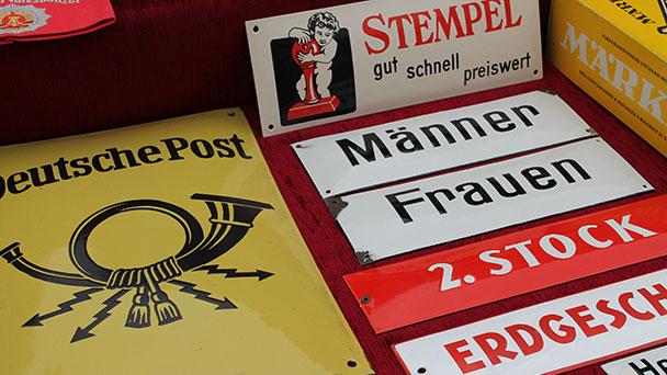 Altstadt-Antikmarkt in Rastatt – Biedermeierzeit, Jugendstil-Epoche, Art-Déco – Nur vor 1975 hergestellte Ware