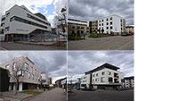 Tag der Architektur in der Baden-Badener Cité - Raumprägende Gebäude des neuen Stadtteils