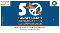Vertrag für Atomwaffenverbot ab morgen in Kraft – Mayors for Peace Flagge auch in Baden-Baden