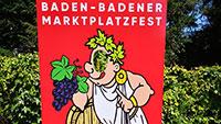 Aus Baden-Baden wird ein Dorf, ein Weindorf – Marktplatzfest ab Samstag