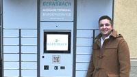 Rathaus Gernsbach mit High-Tech-Bürgerservice – Ausweise kontaktlos abholen – Nur vier Gemeinden in Baden-Württemberg