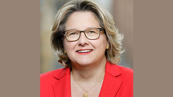 Morgen kommt Bundesumweltministerin Svenja Schulze nach Rastatt – Gabriele Katzmarek motiviert Bürger zum Besuch der Ministerin