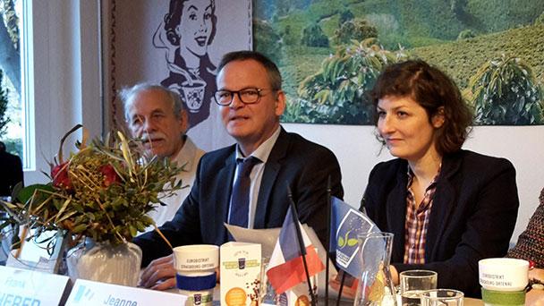 Ortenauer Landrat Frank Scherer gratuliert Jeanne Barseghian – Gewählte neue Oberbürgermeisterin von Strasbourg im Eurodistrikt engagiert