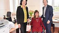 """Neue Städtische Behindertenbeauftragte Nora Welsch hat ein Ziel – Ausbau des """"Runden Tisches für Menschen mit Behinderungen"""""""