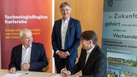 Stadt Landau wird 29. Gesellschafterin der TechnologieRegion Karlsruhe
