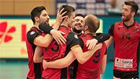 Durchatmen bei Bundesliga-Volleyballern in Bühl – Bisons revanchieren sich mit 3:0