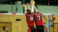 Bison-Jubel zum Jahresende – Bühler Volleyball-Bundesligisten siegen in München