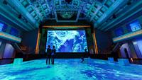 """Refik Anadols """"Digital Dreams"""" lockt ins Kurhaus –  BBE zieht durchweg positive Bilanz zur Halbzeit der Ausstellung"""