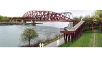 Europäischer Traum der Radfahrer vor Erfüllung – Brücke von Wintersdorf nach Beinheim für 25 Millionen Euro