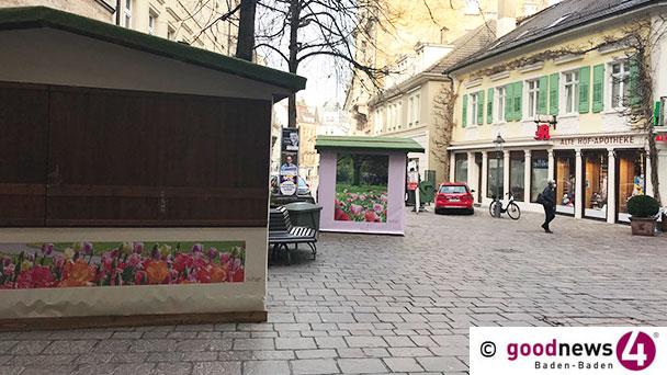 """Baden-Badener Weihnachtsbuden werden zu Osterbuden – Rathaus: """"Zusammen mit Einzelhandel öffnen"""""""