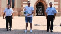Mutiger Bürger in Bühl – OB Schnurr ehrt couragierten Syrer