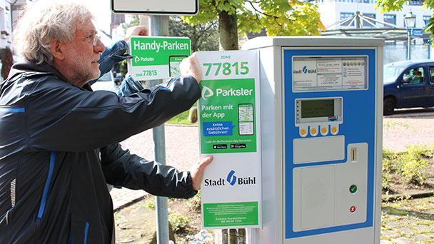 Baden-Baden wird teurer, Bühl wird digitaler – Parkgebühr mit Smartphone bezahlen