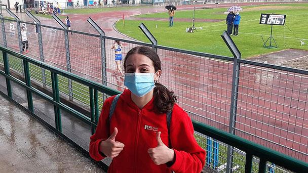Baden-Badenerin auf dem Weg zu italienischen Meisterschaften – Doppelstaatsbürgerin Corinne Gibilisco läuft 100 Meter in 12,30 Sekunden