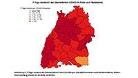 Baden-Baden steigt bei 7-Tage-Inzidenz leicht auf 70,7 – Starker Anstieg im Landkreis Karlsruhe auf 130 – Pforzheim löst Heilbronn mit höchstem Wert ab