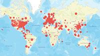 Corona-Statistik Baden–Baden und weltweit – Nur geringer Anstieg der Infizierten in Baden-Baden