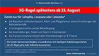 10 Punkte der Corona-Beschlüsse –  Verordnungen sollen spätestens ab dem 23. August in Kraft treten