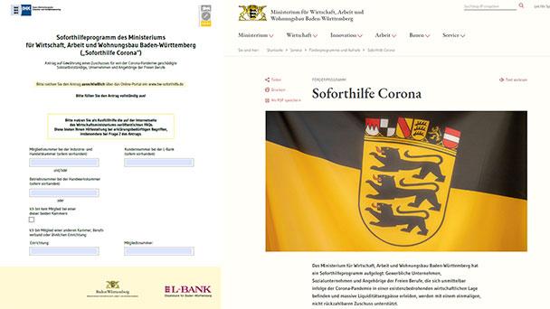 Corona-Soforthilfen können ab sofort beantragt werden – Formular liegt vor – 9.000 bis 30.000 Euro möglich