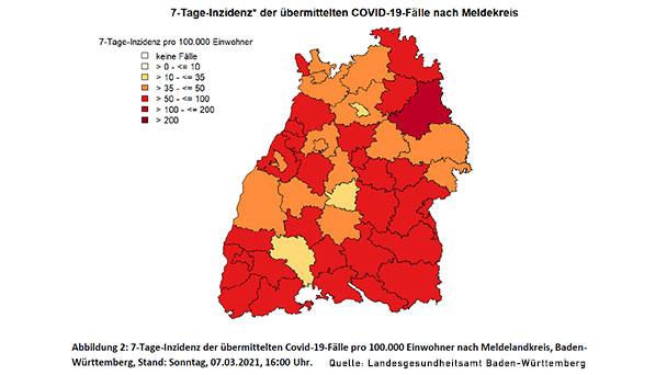 """Einzelhandel in Baden-Baden kann ab heute öffnen – Inzidenz 39,9 – Landkreis Rastatt mit 87,3 """"click&meet"""", Ausgangssperre aufgehoben"""