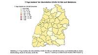 Inzidenz in Baden-Baden wieder hoch auf 21,7 – Landkreis Rastatt verbessert auf 10,8