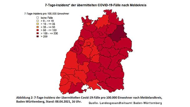 Baden-Baden und Mannheim mit höchsten Werten badischer Stadtkreise – Landkreis Rastatt 137,4