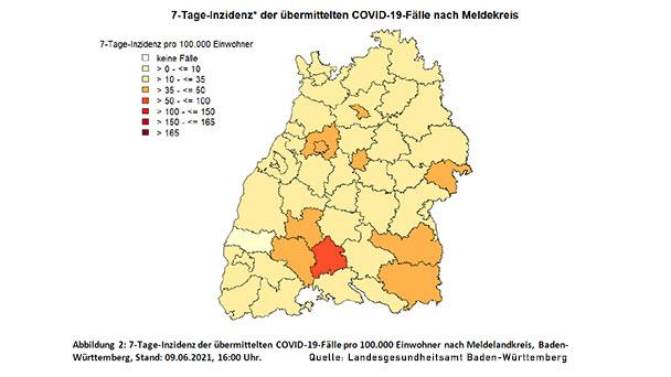 Baden-Baden wieder Musterknabe – Mit 10,9 zweitbester Wert in Baden-Württemberg – Landkreis Rastatt 25,9